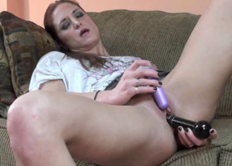 Autumn Bodell gets off with two toys